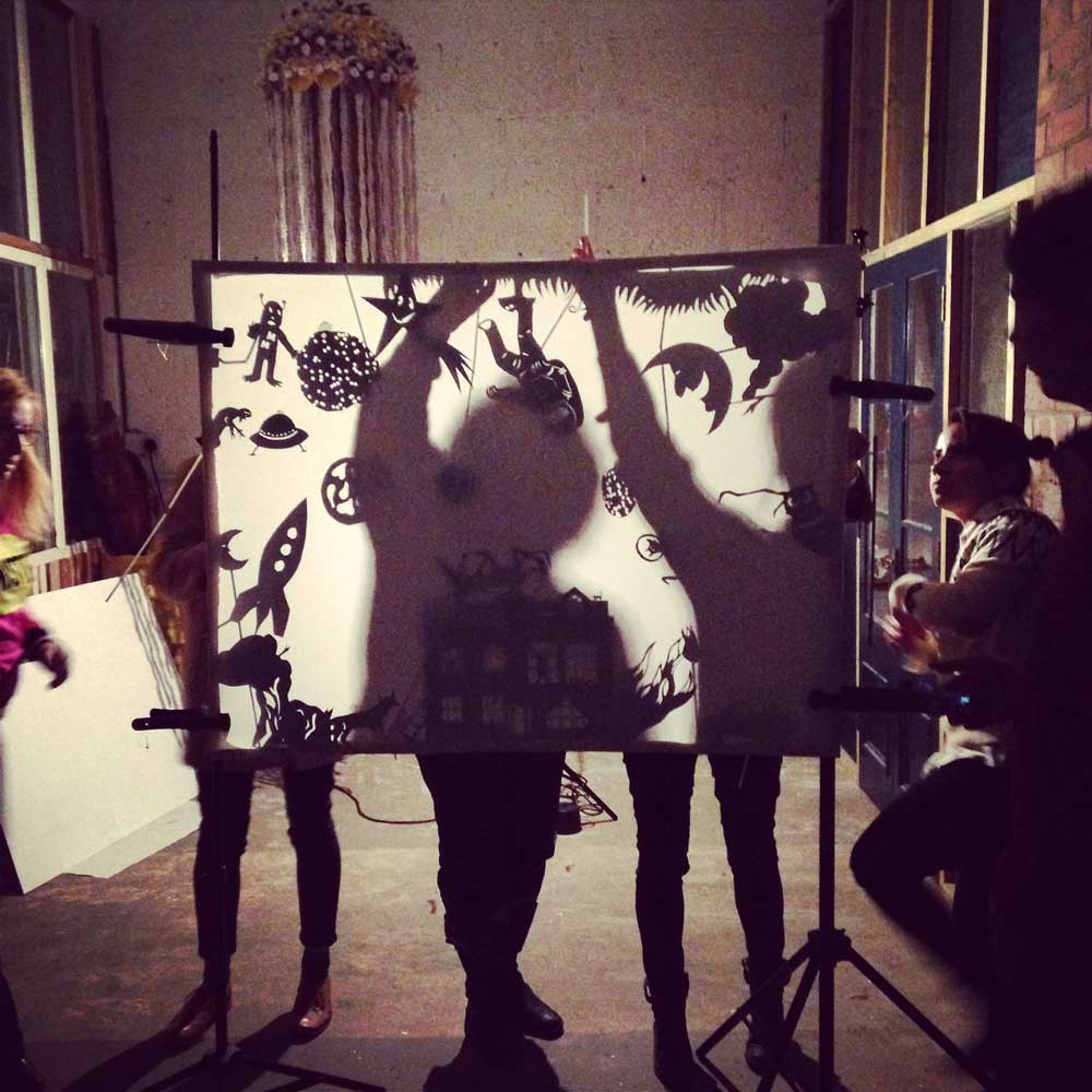 Artist shadow show