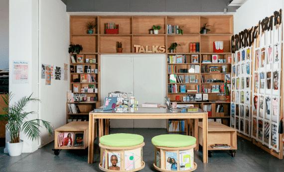 Studio library shot