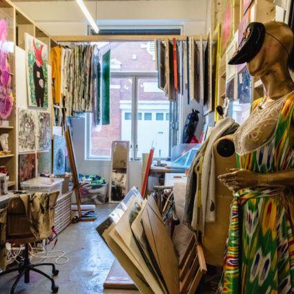 Artist studio - Creative Land Trust